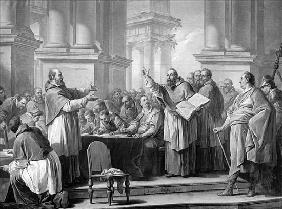 Meeting of St. Augustine and the Donatists