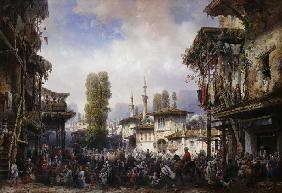 Square of the Tartars, Bahceka 1854