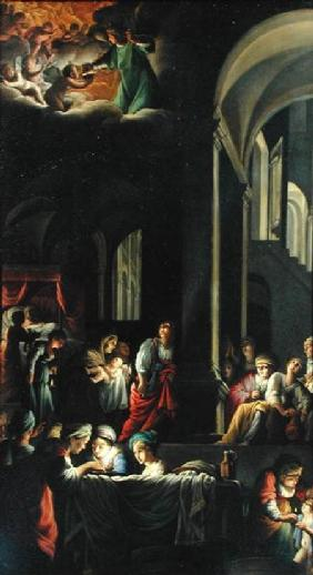 The Birth of the Virgin c.1616-19