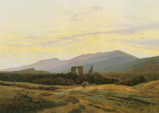 Caspar David Friedrich - Ruine Eldena im Riesengebirge