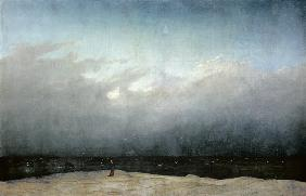 Caspar David Friedrich - M�nch am Meer