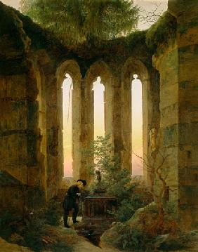Caspar David Friedrich - Huttens Grab