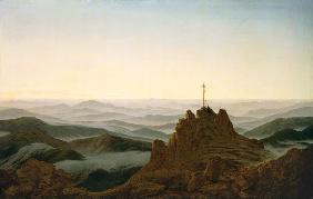 Morgen im Riesengebirge - Caspar David Friedrich als ...