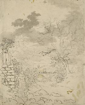 Stream with a Bridge c.1799