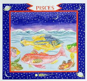 Pisces (w/c on paper)