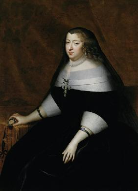 Portrait of Anne of Austria (1601-66)