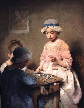 The Game of Lotto 1865
