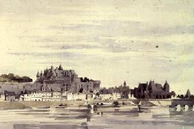 View of Amboise, France