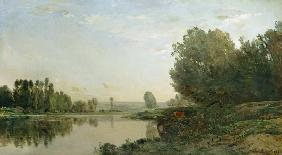 The Banks of the Oise, Morning 1866
