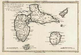 The Islands of Guadeloupe, Marie-Galante, La Desirade, and the Isles des Saintes, French colonies in 06th-