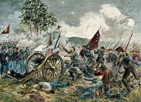 Pickett's Charge Battle of Gettysburg in 1863