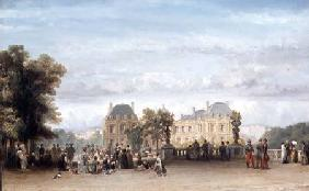 The Luxembourg Gardens 1849