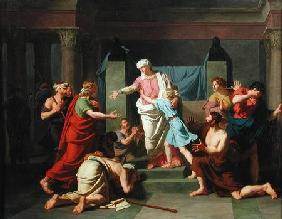 Joseph Recognised by his Brothers 1789