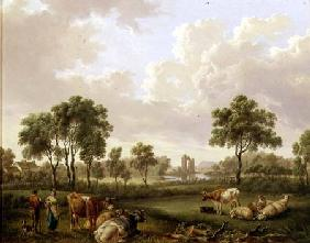 Landscape with Figures 1812