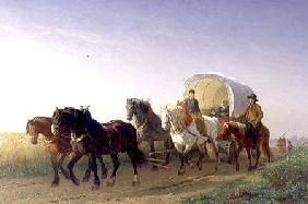 The Covered Wagon 1868