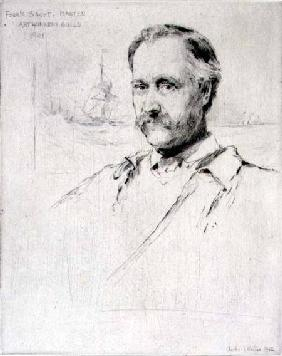 Sir Frank Short (1857-1945) painter and engraver, Master of the Art Workers' Guild in 1901 1902