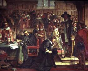 Attempted arrest of 5 members of the House of Commons by Charles I, 1642 1868