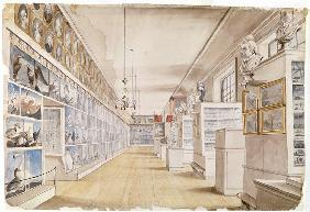 The Long Room, Interior of Front Room in Peale's Museum 1822