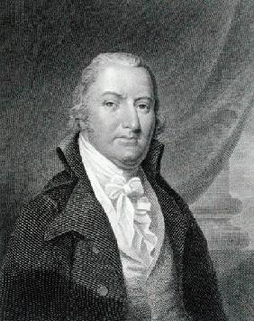David Ramsay (1749-1815) engraved by James Barton Longacre (1794-1869) after a drawing of the origin