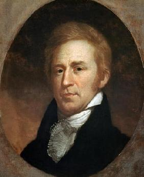 Portrait of William Clark, c.1807 (oil on board) 19th