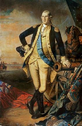 Portrait of George Washington (1732-99)