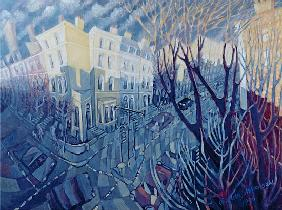 Ladbroke Grove, My Corner, 1996 (oil on canvas)