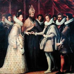 The Marriage of Catherine de Medici (1519-98) and Henri II (1519-59)