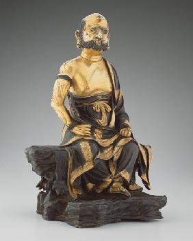 Figure of Bodhidharma, Ming dynasty 1496 rcel