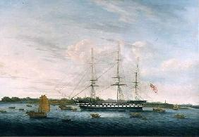 The Honourable East India Company's 'The Earl of Balcarras' at Canton 1816