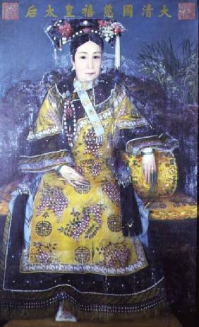 Portrait of the Empress Dowager Cixi (1835-1908)