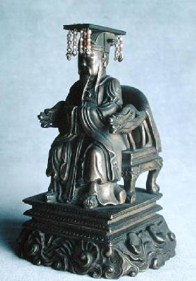 Statuette of Confucius (551-479 BC) as a Mandarin, Qing Dynasty Qing Dynas