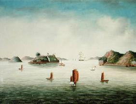 View of Canton area c.1850