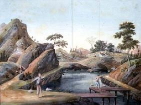 View of a Rock Quarry 1820