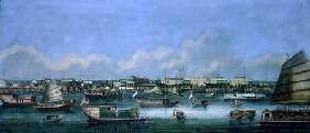 View of the Waterfront at Canton c.1855
