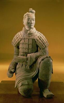 Kneeling archer from the Terracotta Army, 210 BC (terracotta) 1589