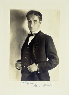 A Three Quarter Length Publicity, Shot Of Charlie Chaplin Circa 1920