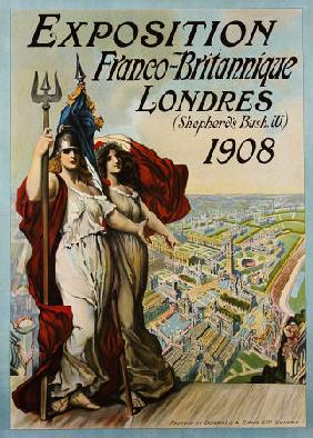 Exposition Franco-Britannique, Londres, (Shepherd''s Bush) 1908