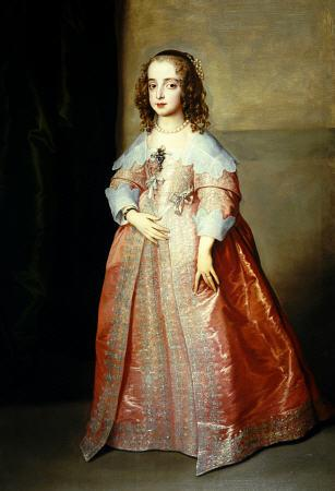 Portrait Of Mary, Princess Royal (1631-1660) C