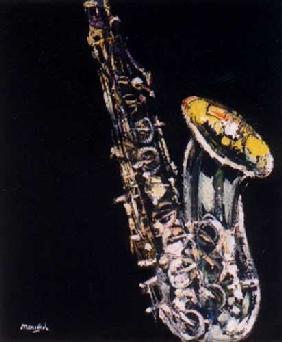 Kunstdruck von Christoph Menschel - Saxophon II