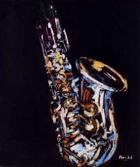 Kunstdruck von Christoph Menschel - Saxophon V