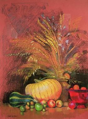 Autumn Harvest (pastel on paper)