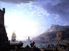 Morning scene in a bay 1752