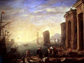 Morning at the Port 1640