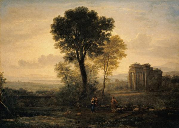 Morning (Landscape with Jacob, Rachel and Leah by the Well) 1666