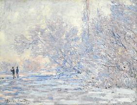 Frost in Giverny (Le Givre à Giverny) 1885