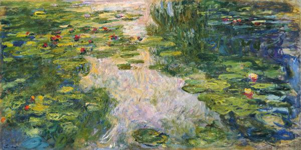 Monet, Claude : Le bassin aux nymph�as.