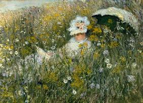 Monet, Claude : In der Blumenwiese (Dans l...