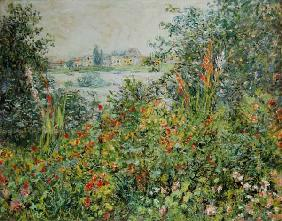 Monet, Claude : Sommerbl�ten bei Vetheuil