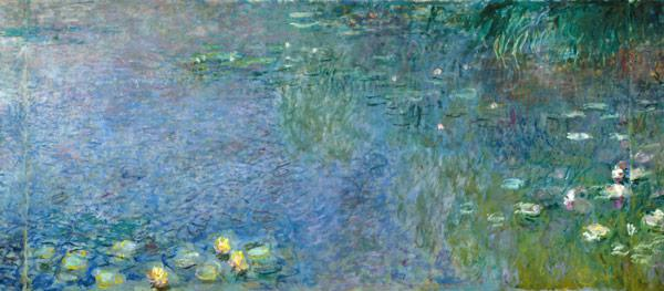 Monet, Claude : Waterlilies: Morning