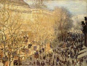 Boulevard des Capucines in Paris 1873